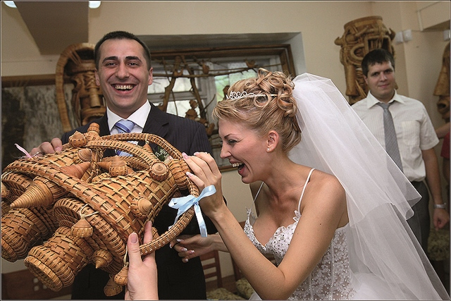 Подарок от невесты гостям